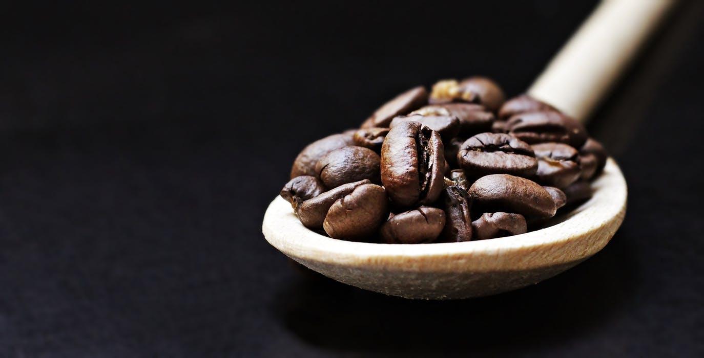 Bild på kaffebönor